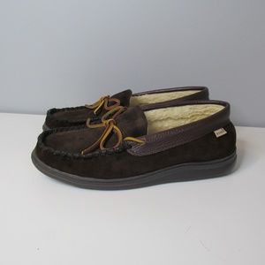 L.B. Evans Mens Slippers Shoes Moccasin